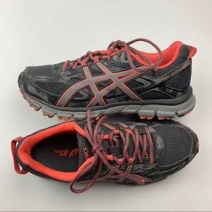 ASICS Gel Scram 3 Gray Running Shoe Size 8.5